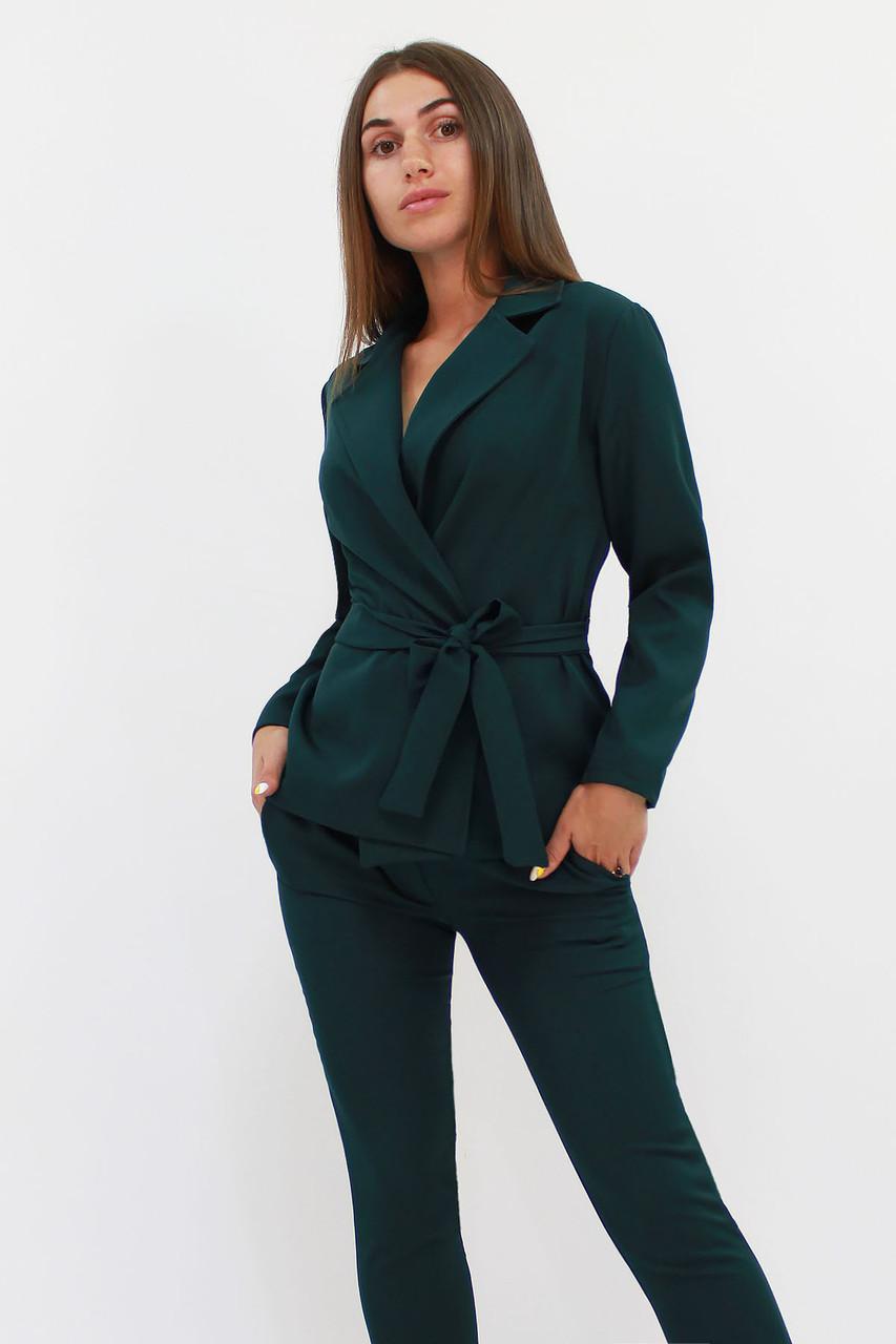Молодежный женский костюм Astrid, темно-зеленый