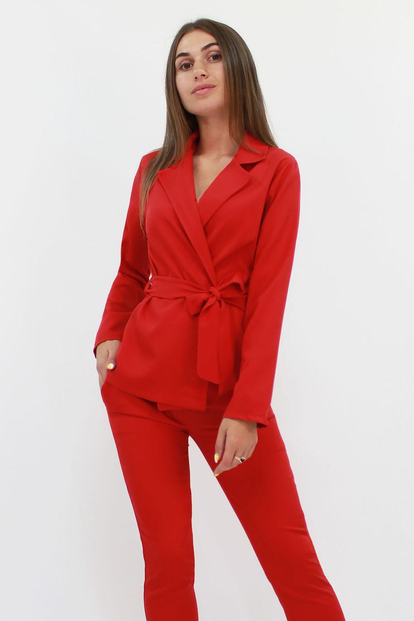 Молодежный женский костюм Astrid, красный