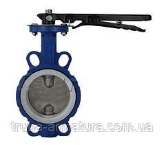 Затвор поворотный Баттерфляй с чугунным диском VITECH DN 300 PN 16