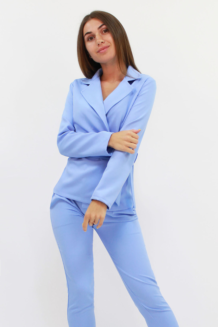 Молодежный женский костюм Astrid, голубой