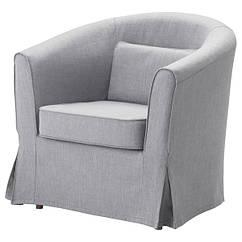 IKEA TULLSTA ТУЛЛЬСТА (592.846.62) Крісло - НОРДВАЛЛА класичний сірий