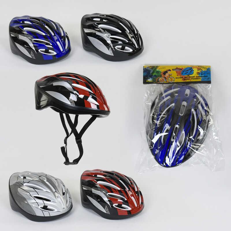 Шлем защитный B 31980 (40) 4 цвета, в кульке