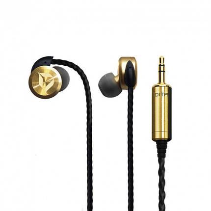 Dita Brass Limited Edition Наушники Внутриканальные, фото 2