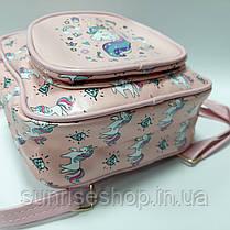 Рюкзак для девочки Единорог, фото 3