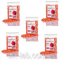 Горячий пленочный воск в гранулах 500 гр - 5 пакетов по 100 гр на выбор .Роза