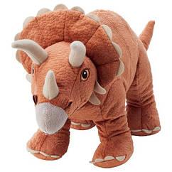 IKEA JÄTTELIK ЄТТЕЛІК (604.711.77) Іграшка м'яка - динозавр/трицератопс