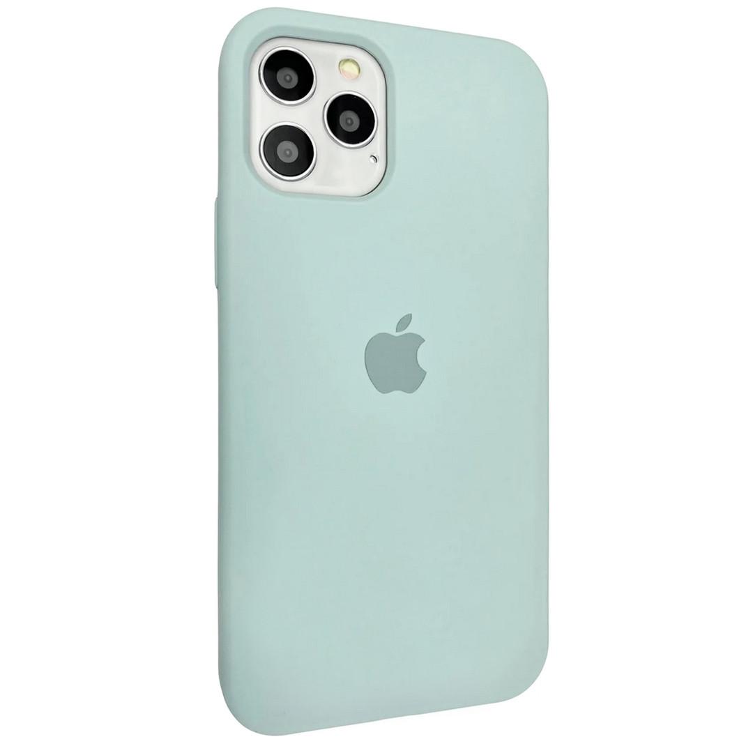 Силиконовый чехол Silicone case для Apple iPhone 12 Pro Max | Seafoam | DK