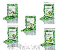 Горячий пленочный воск в гранулах 500 гр - 5 пакетов по 100 гр на выбор .Зеленый чай