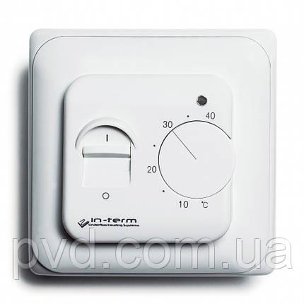 Механічний терморегулятор для теплої підлоги IN-THERM RTC70, фото 2
