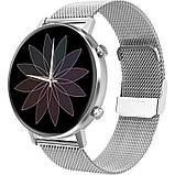 Смарт-часы DT96 с тонометром и спорт функциями + дополнительный ремешок - Черный, фото 4