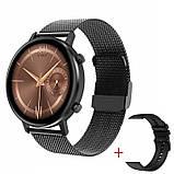 Смарт-часы DT96 с тонометром и спорт функциями + дополнительный ремешок - Черный, фото 6