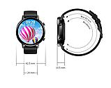 Смарт-часы DT96 с тонометром и спорт функциями + дополнительный ремешок - Черный, фото 8