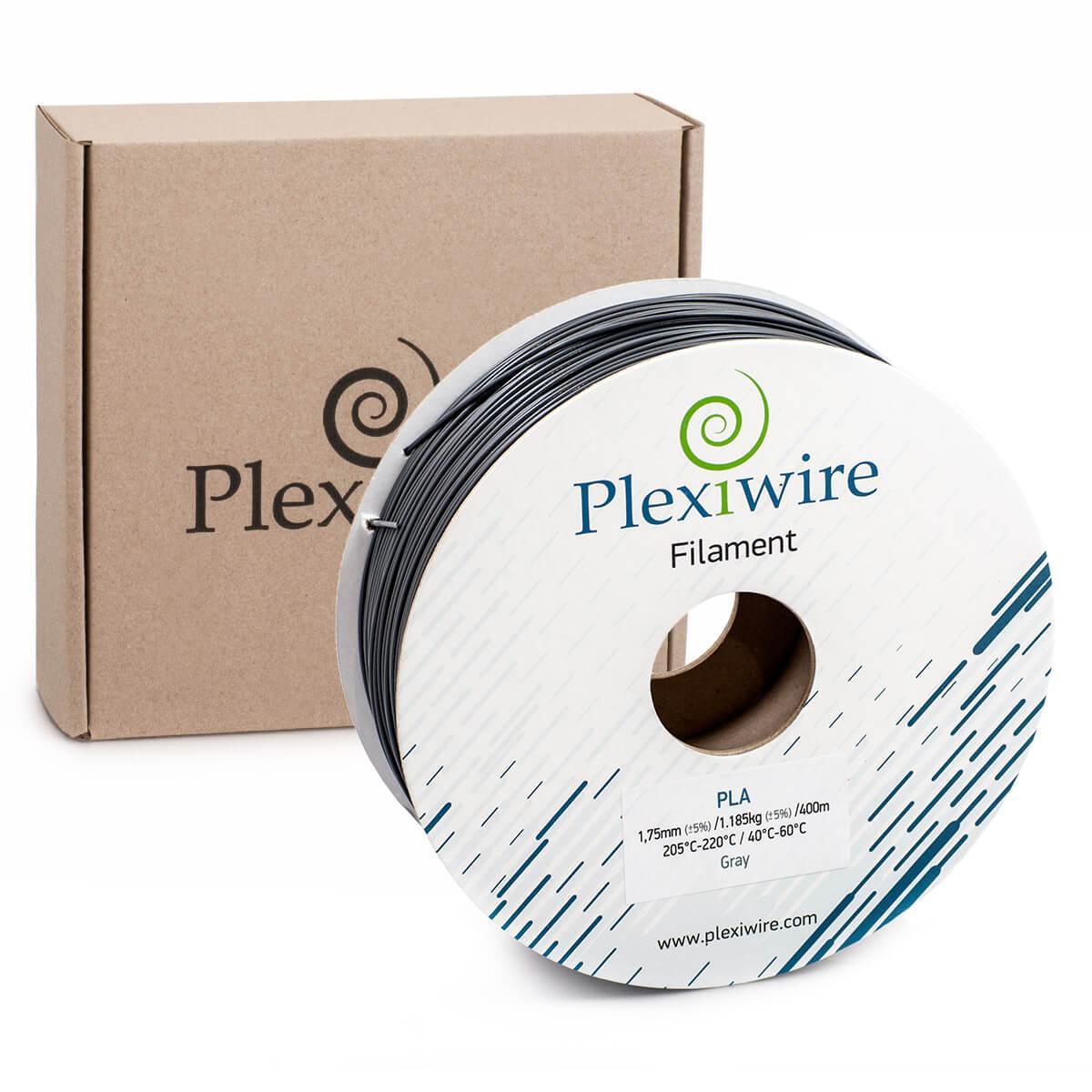 PLA пластик для 3D принтера 1.75 мм Сірий (400 м / 1.185 кг)