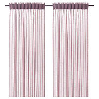 IKEA GJERTRUD ГЕРТРУД (104.647.73) Гардини, 1 пара, рожевий 145x300 см