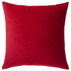 IKEA SANELA САНЕЛА (004.473.07)  Чохол для подушки , червоний 50x50 см
