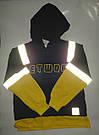 Костюм на мальчика со светоотражателем и желтой обманкой, фото 7