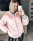 Шуба 856762-2 розовый Осень- Зима Украина 48-50, фото 3