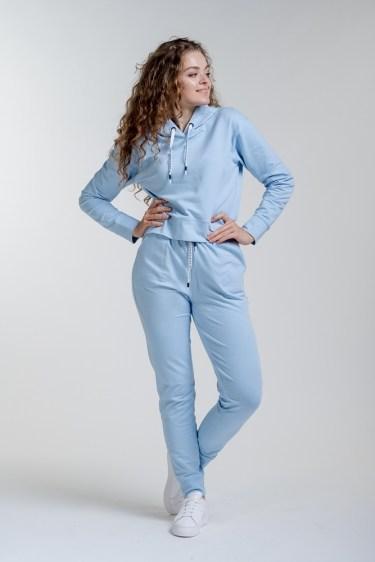 Женский спортивный костюм Arjen L Светло-голубой (17150-56157-17)