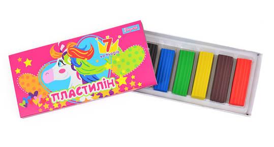 Пластилин 7 цв. ''Magic unicorn'', фото 2
