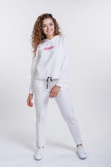 Женский спортивный костюм Arjen Keep going S Молочный (25740-58387-20)