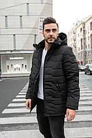"""Стильная теплая мужская зимняя куртка с подкладкой на флисе """"Джемисон"""""""