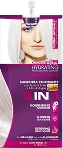 Тонирующая маска 3 в 1 ING Professional Color-ING Coloring Mask Triple Function платиновая