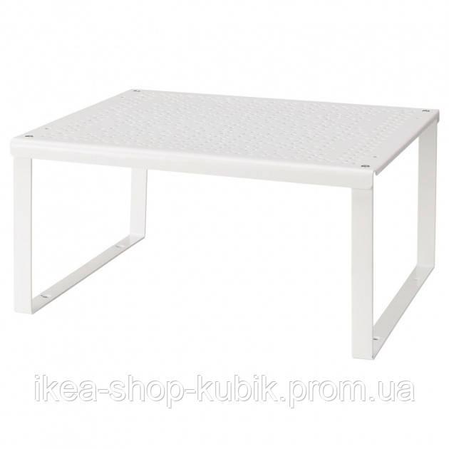 Полиця-вставка, білий, 32x28x16 см ІКЕА VARIERA ВАРЬЄРА 601.366.23