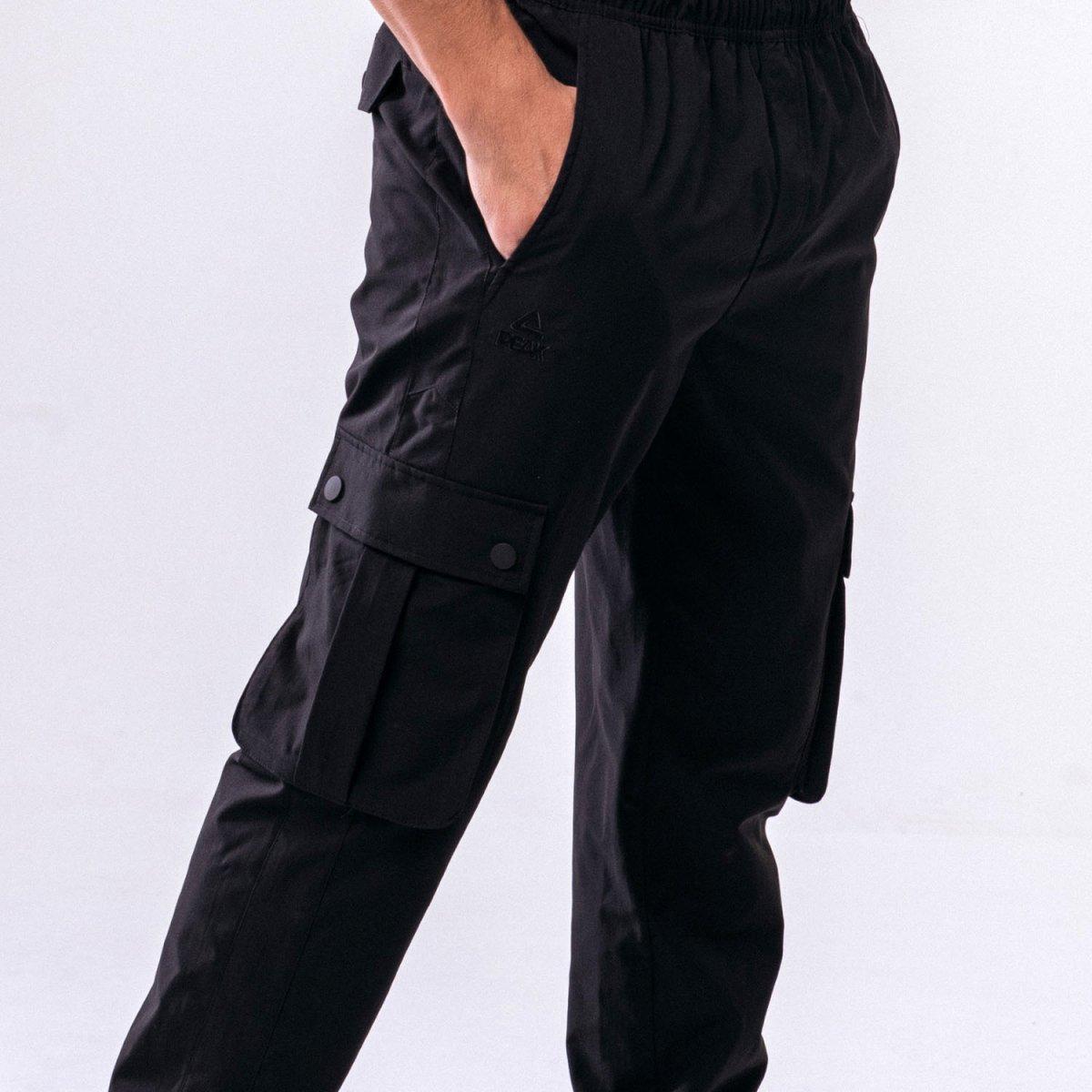 Штаны спортивные мужские Peak FW301351-BLA 2XL Черный (6941230161250)