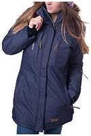 Женская горнолыжная куртка Snow Headquarter, темный-джинс P. L, XL