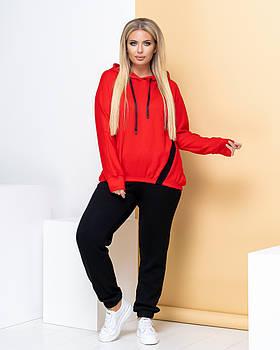 Спортивный костюм PEONY Спорт №60 56-58 Красный (1410201-56-58:6)