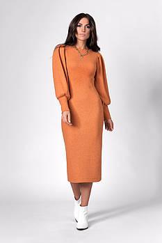 Платье SL-FASHION 1281.1 42 Терракотовый (SLF-1281.1-4)