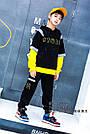 Костюм на мальчика со светоотражателем и желтой обманкой, фото 3