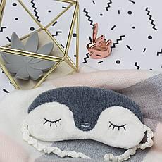 """Маска для сна """"Пингвинчик"""", фото 3"""