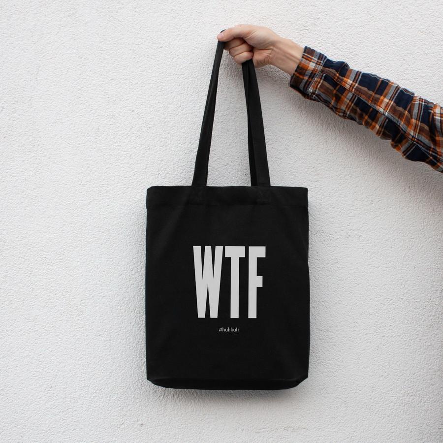 """Экосумка """"WTF"""""""