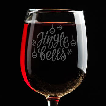 "Бокал для вина ""Jingle bells"", фото 2"