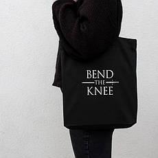 "Экосумка GoT ""Bend the knee"", фото 3"