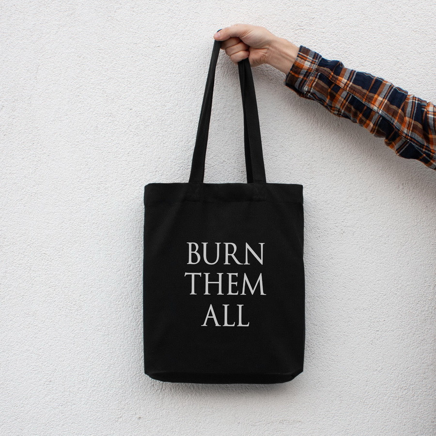 "Экосумка GoT ""Burn them all"""