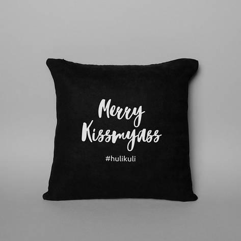 "Подушка ""Merry Kissmyass"", фото 2"