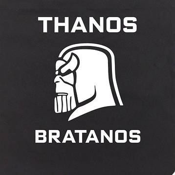 "Экосумка MARVEL ""Thanos bratanos"", фото 2"