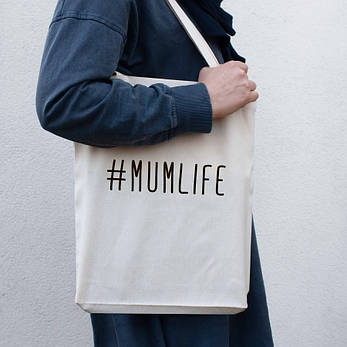 """Экосумка """"#Mumlife"""", фото 2"""