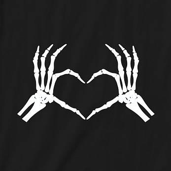 "Экосумка ""Skeleton heart"", фото 2"