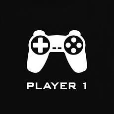 """Футболки парные """"Player 1 / Player 2"""", фото 2"""
