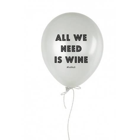"""Шарик надувной """"All We Need Is Wine"""", фото 2"""