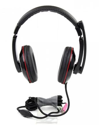 Ігрові навушники з мікрофоном і LED підсвічуванням VIPBEN GH-703, фото 2