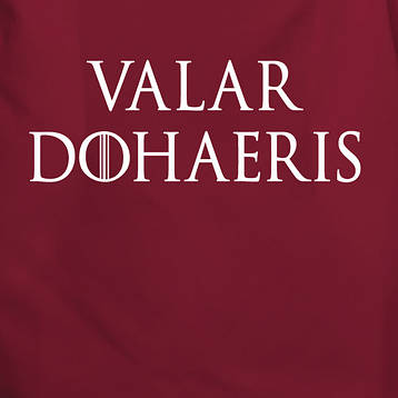 "Фартук GoT ""Valar dohaeris"", фото 2"