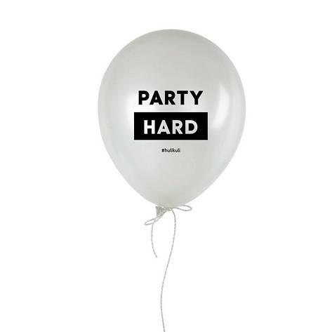 """Шарик надувной """"Party hard"""", фото 2"""
