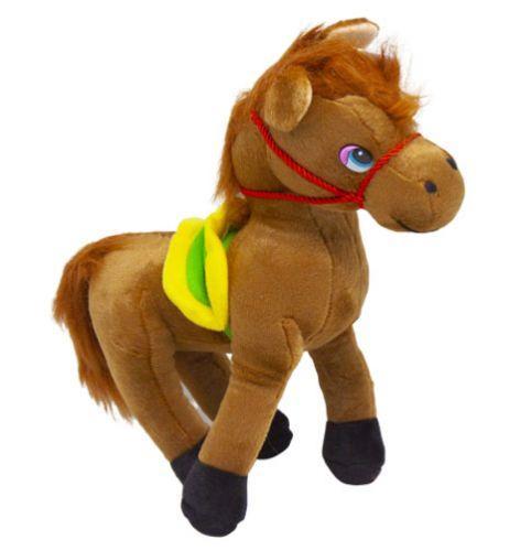 """Мягкая игрушка """"Лошадка"""" (коричневый)"""