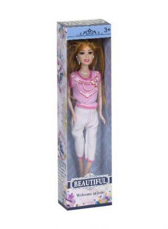 Кукла Beautiful (с золотистыми волосами) LY88028B, фото 2