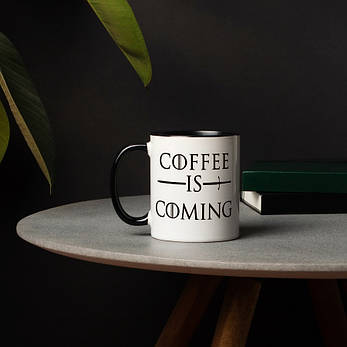 "Кружка GoT ""Coffee is coming"", фото 2"