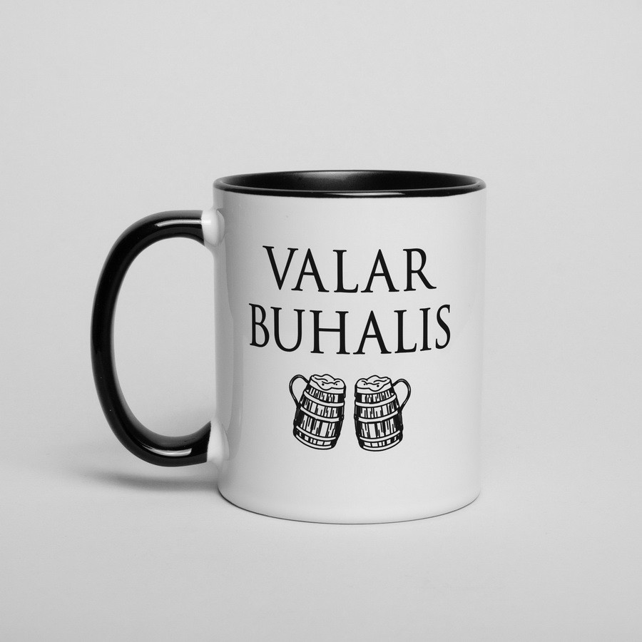 "Кружка GoT ""Valar buhalis"""
